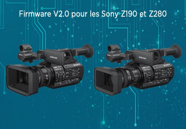 Firmware v2.0 pour les Sony Z190 et Z280