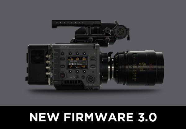 Nouveau firmware SONY VENICE v3.0
