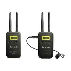 Saramonic VmicLink5 RX+TX - Kit HF Micro Cravate Émetteur Récepteur