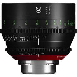 Canon Sumire Prime 20mm T1.5 Impérial Monture PL - Objectif Prime
