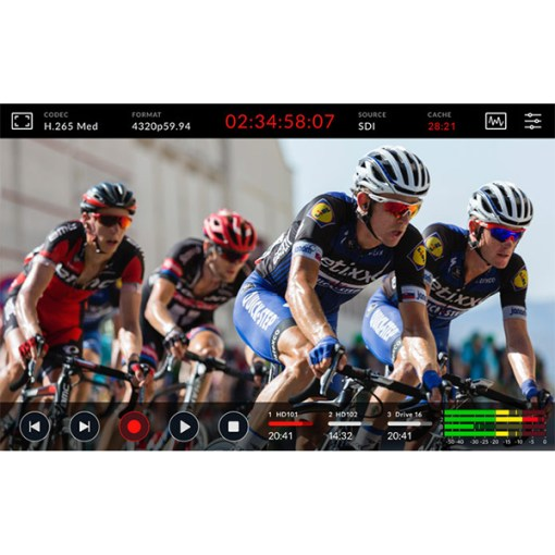 ENREGISTREUR VIDEO BLACKMAGIC HYPERDECK EXTREME 8K HDR
