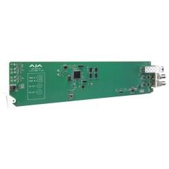 CARTE OPENGEAR 2 CANAUX FIBRE VERS 3G-SDI AJA OG-FIDO-2R