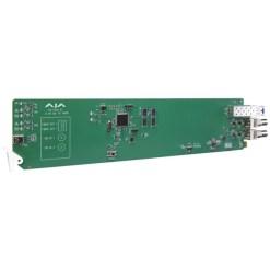 CARTE OPENGEAR  2 CANAUX 3G-SDI VERS FIBRE AJA OG-FIDO-2T