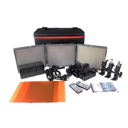 Aputure HR672-CCC - kit 3 panneaux LED