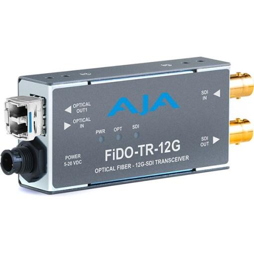 AJA FiDO-TR-12G - Convertisseur 1 canal 12G-SDI/LG Single Mode LC Fiber