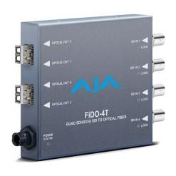AJA FiDO-4T-MM - Convertisseur 4 canaux 3G-SDI vers Multi-Mode LC Fiber