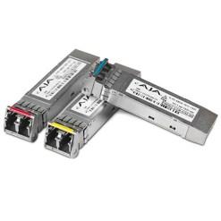 AJA FiberLC-2TX-MM - Transmetteur 2 Canaux 3G-SDI Multi Mode LC Fiber Tx SFP