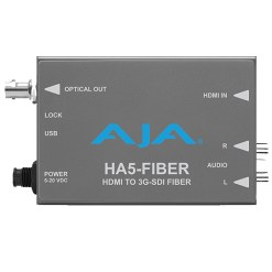 Aja HA5-Fiber - mini convertisseur HDMI vers 3G-SDI