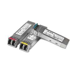 AJA FiberLC-1-TX-12G - 1 Canal 12G-SDI Single Mode LC Fiber Tx SFP pour FS4/FS-HDR
