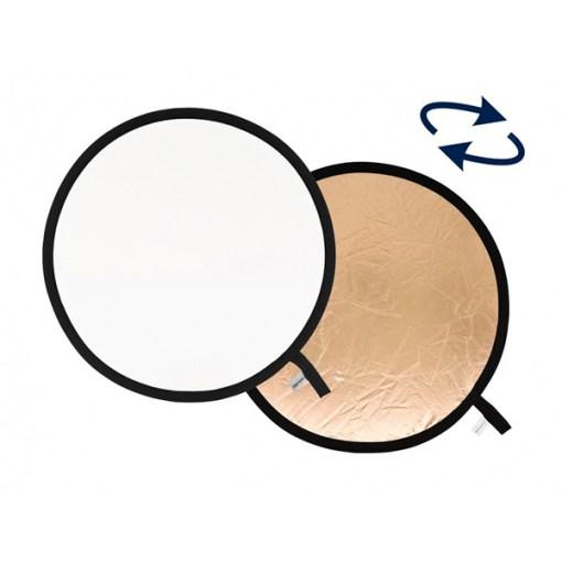 Lastolite Reflecteur Pliable 50cm Sunfire/Blanc – Réflecteur