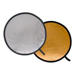 Lastolite Reflecteur Pliable 50cm Argent/Or - Réflecteur