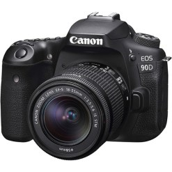 Canon EOS 90D avec 18-55mm IS STM - Appareil photo avec objectif