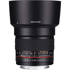 Samyang 85mm f/1.4 AE Aspherical IF - objectif