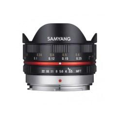 Samyang 7,5mm F3,5 UMC Fisheye Micro 4/3 Noir - objectif