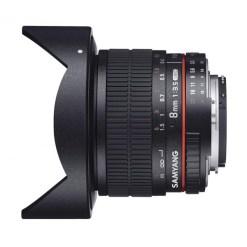 Samyang 8mm F3.5 UMC CS II Fisheye Nikon AE - objectif