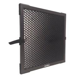 Exalux Nid d'Abeille Aluminium 45° pour LEDZEP 1X4 – Accessoire Lumière