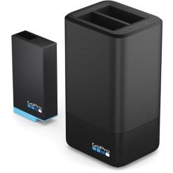 GoPro Chargeur de Batterie Double avec Batterie pour MAX - Chargeur de Batterie