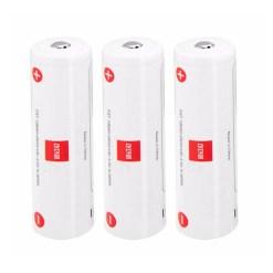 Zhiyun 3 batteries Lithium 2600mAh pour Weebill Lab et Crane 3