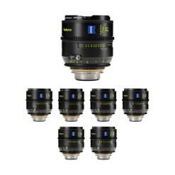 Zeiss SP Radiance - kit objectifs 21/25/ 29/35/50/85/100 mm - métrique