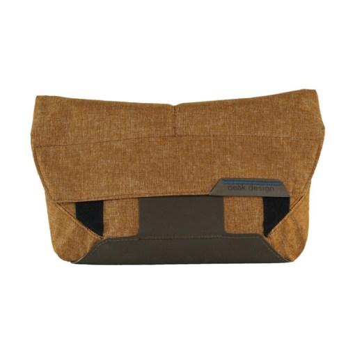 Peak Design Field Pouch - sac photo - heritage tan