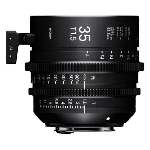 Sigma 35mm T1.5 FF F/AP2 PL /i – Objectif Cinéma