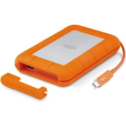 LaCie Rugged Thunderbolt USB 3 2 To  - disque dur externe