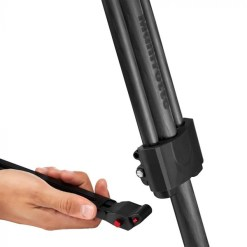 MANFROTTO TREPIED CARBONE FAST TWIN AVEC ROTULE 526