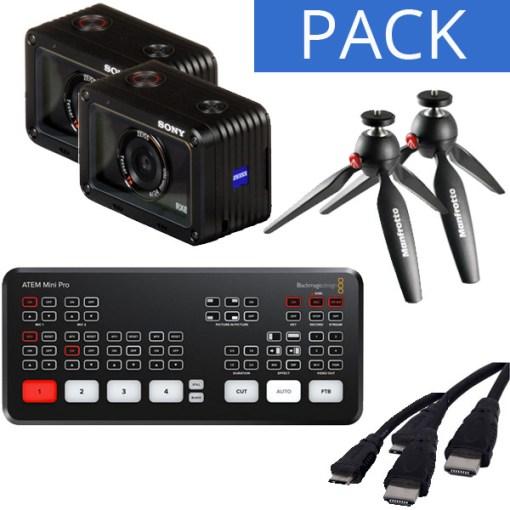 Pack Blackmagic ATEM Mini Pro