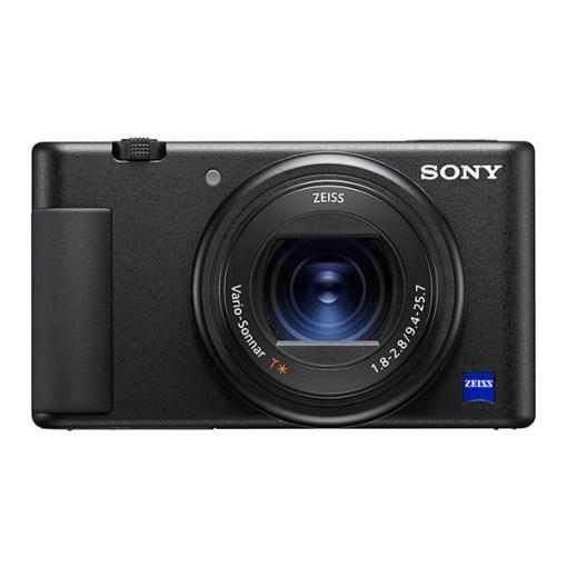 Sony ZV-1 avec Télécommande Grip GP-VPT2BT, Mini Trépied et Pare-Vent