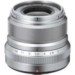 Fujifilm XF 23mm F2 R WR (Silver) - Objectif