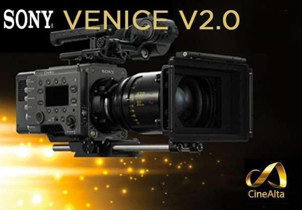 Nouveau firmware SONY VENICE v2.0