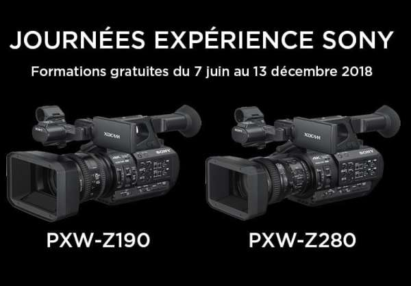 formation gratuite sony pxw-z280 pxw-z190