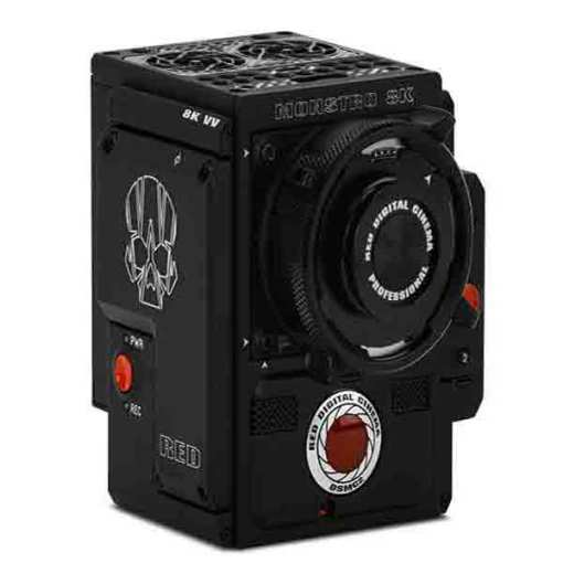 CORPS DE CAMERA RED DSMC2 FC MONSTRO 8K VV MONTURE PL MG
