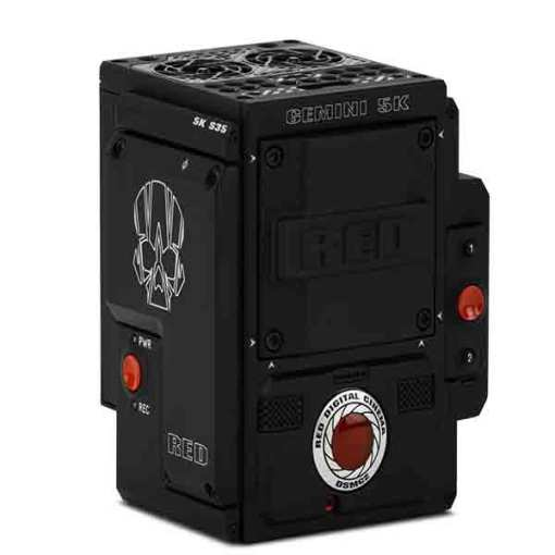 RED DSMC2 GEMINI 5K S35 OLPF STANDARD - Caméra