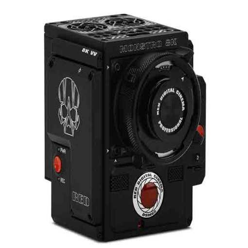 RED DSMC2 MONSTRO 8K VV MONTURE PL ALU OLPF STANDARD - Caméra