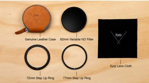 kit filtre nd variable ultra dense 82 mm