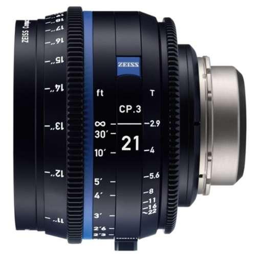 ZEISS CP.3 100mm T2.1 Monture PL Métrique XD - Objectif Prime