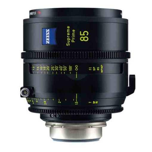 ZEISS Supreme Prime 85mm T1.5 (PL, imperial) - Objectif Prime Cinéma