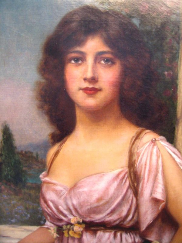 Pre Raphaelite Lady with Tamborine: Abbey Alston