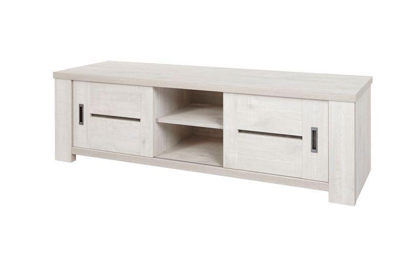 meuble tv chene blanchi drancy 176 cm