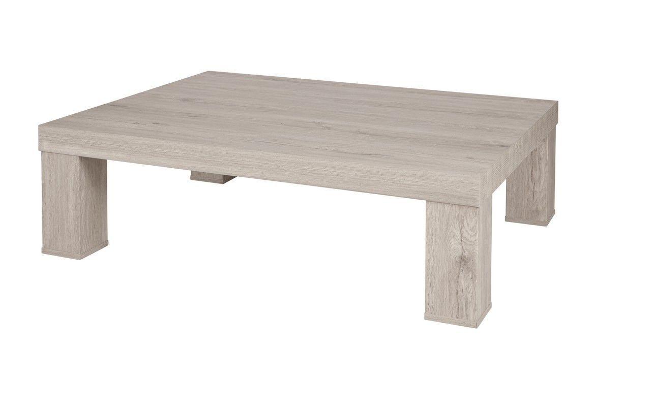 table basse chene gris clair 137 x 100 cm nuno