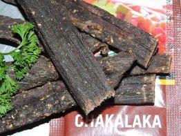 Biltong, Chakalaka Würzmischung als Stiks, 100 g Packung.  40,- €/Kg