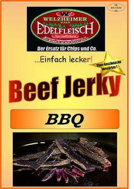 1 Kg Beef Jerky Trockenfleisch Beef Jerky BBQ Würzung