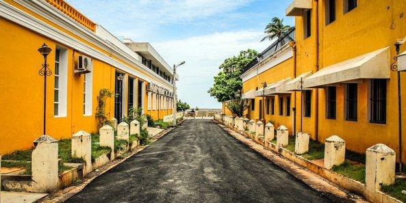 Pondicherry during monsoon