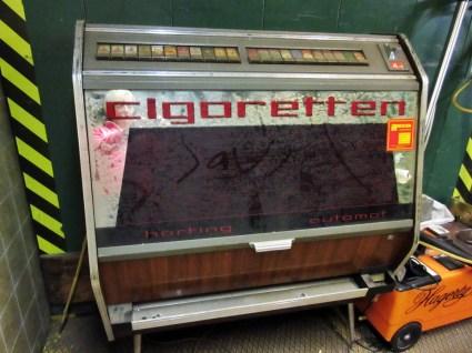 Zigarettenautomat hortung