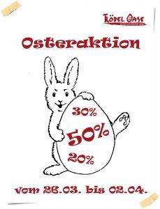 Osteraktion Zettel