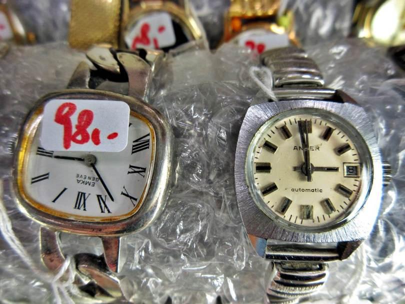 Armbanduhr EMKA ANKER silbern