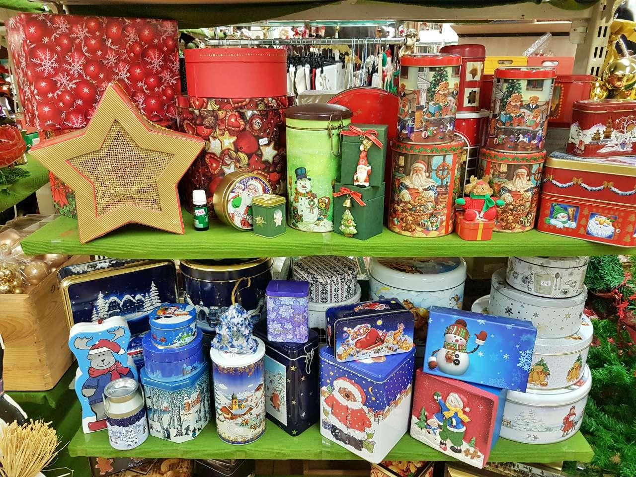 Weihnachtsmarkt 2020 Dosen Behälter