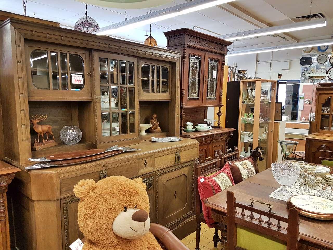 Antike Möbel Buffetschränke Eiche