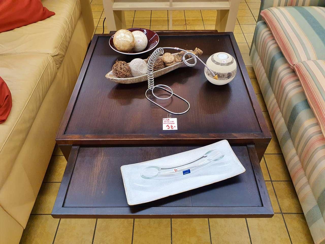 Wohnzimmertisch Tisch Kolonialstil ausziehbar